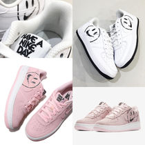 【大人もOK!】NIKE AIR FORCE 1 LV8 2 (GS) エアフォース1 SMILE