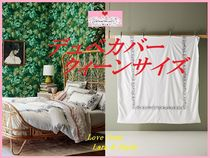 最安値*関送料込【Anthro】Embroidered Petunia Duvet Cover QWN
