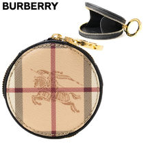Burberry(バーバリー)★House Check Round Coin Wallet-4065243