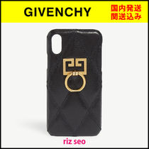 Double Gのロゴがカッコイイ★GIVENCHY★ロゴiphone X/XS ケース