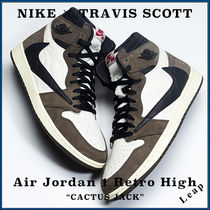 "【Nike×Travis Scott】Air Jordan 1 Retro High ""CACTUS JACK"""