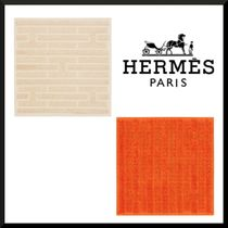 HERMES★エルメス★ Labyrinthe square towel