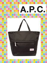 (/・ω・)/A.P.C.(アーペーセー) Protection expandable tote