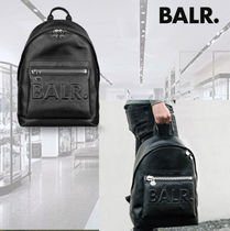**BALR**ボーラー★Leather Grande Backpack★バックパック
