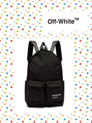 Off-White/ オフ・ホワイト/Quote backpack