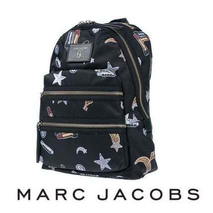 ☆MARC JACOBS☆ Tossed Charms Printed BIKER バックパック♪
