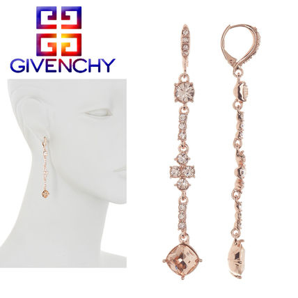 特別価格!GIVENCHY★Cushion Crystal Linear Drop ピアス