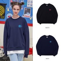 ACOVER(オコボ) スウェット・トレーナー 【ACOVER】TWIN EARTH SWEAT SHIRT (2color) - UNISEX