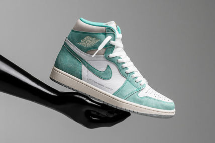 "在庫わずか!Nike Air Jordan 1 Retro High OG ""Turbo Green"""