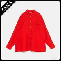 ★ZARA★ザラ  OVERSIZED SHIRT WITH POCKET