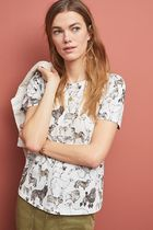 セール! 52 conversations by Anthropologie Colloquial Tee