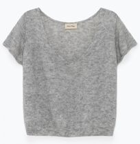 "American Vintage(アメリカンヴィンテージ) ニット・セーター ""American Vintage"" WOMEN'S JUMPER UGOBALL GRAY"