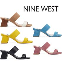 Sale★【Nine West】サンダル★Churen Double Strap Mule Sandal
