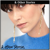 【 & Other Stories 】Hanging Olive Branch ピアス  0690219001