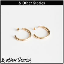【 & Other Stories 】Thick Hoop  フープ ピアス  0563866003