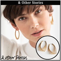 【 & Other Stories 】Overlapping Wire ピアス  0688810002