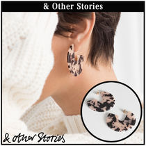 【 & Other Stories 】Multicoloured Resin ピアス  0729591001