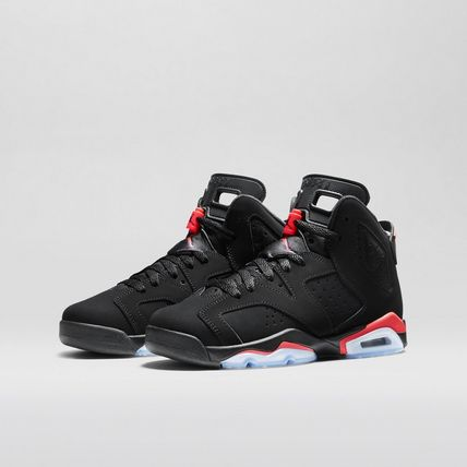 レディース Nike Air Jordan 6 Retro OG Black Infrared BG