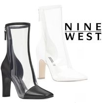 NINE WEST☆SALEクリアブーツQuilted Bootiesナインウェスト