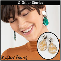 【 & Other Stories 】Gold Flake Hanging ピアス  068991600