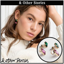 【 & Other Stories 】Front Back Stud ピアス  0536329001