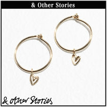 【 & Other Stories 】ミニハート フープ ピアス   0572055001
