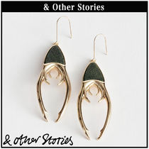 【 & Other Stories 】Beetle Claw Hanging ピアス  0689907001