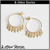 【 & Other Stories 】Open Leaf フープピアス  0691225001