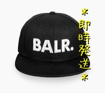 *即時発送* BALR. BRAND COTTON CAP BLACK