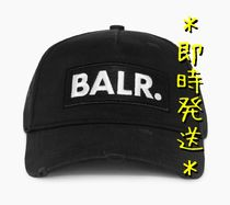 *即時発送* BALR. CLASSIC DISTRESSED CAP BLACK