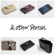 【日本未入荷】& Other Stories★Leather Card Holder