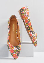 Automatic Admiration Floral Flat