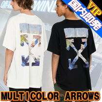 ◆◆VIP◆◆ Off-White MULTICOLOR ARROWS S/S T-SHIRT