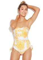 【SEAFOLLY】Sunflower C D Bandeau One Piece