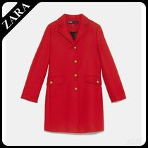 ★ZARA★ザラ  COAT WITH METALLIC BUTTONS