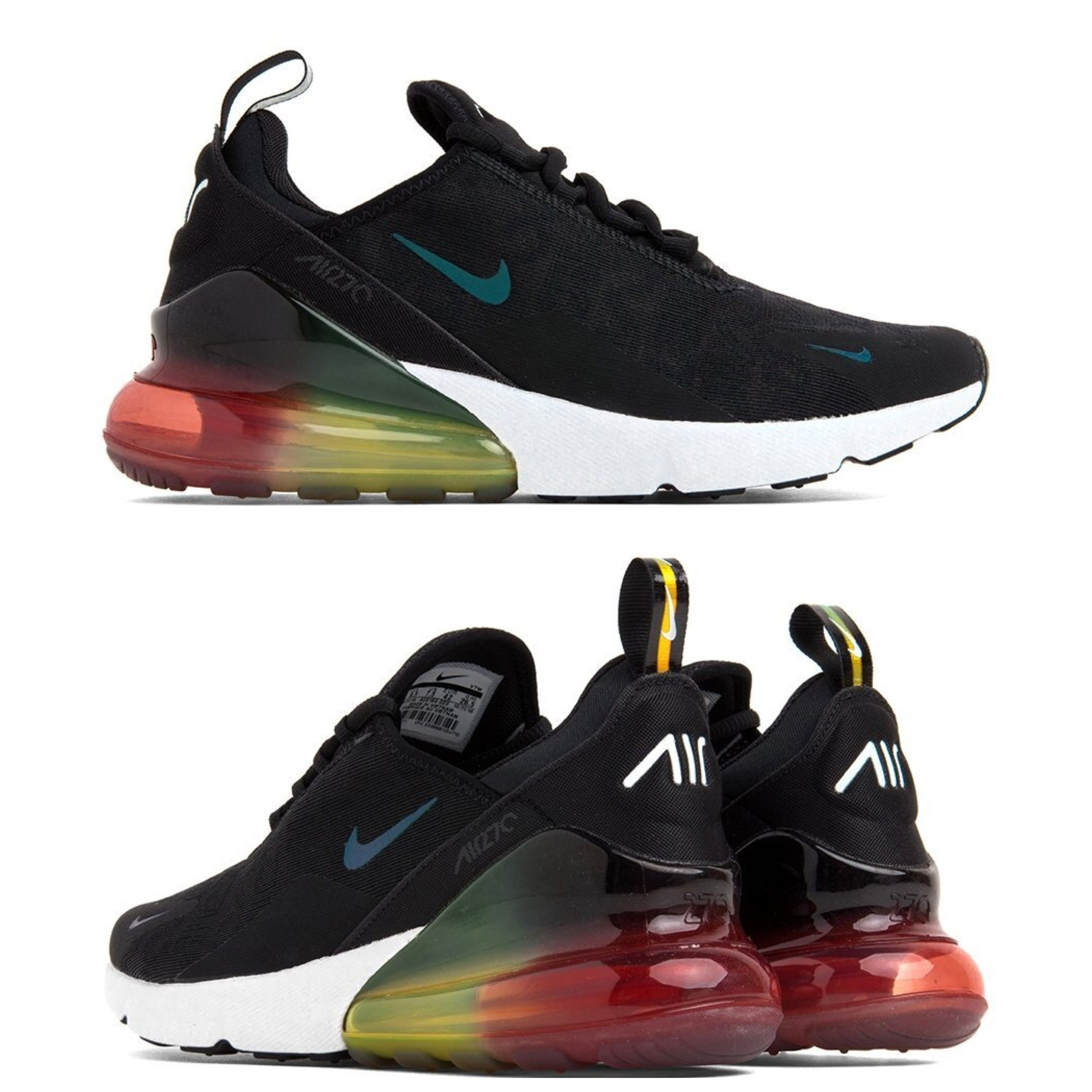 Nike AIR MAX 270 2019 SS Street Style Sneakers