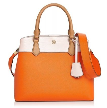 Tory Burch★ROBINSON SMALL DOUBLE-ZIP TOTE