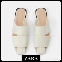 ★ZARA TRF★  JOIN LIFE LEATHER MULES