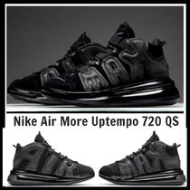 ナイキ★モアテン ★Nike Air More Uptempo 720 QS 1★Black★黒