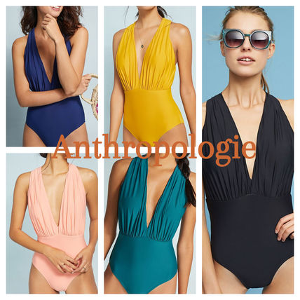 3e7622c862 Anthropologie ワンピース水着 Anthropologie♡Plunge One-Piece Swimsuit ...