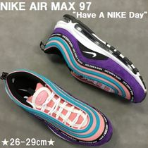 HAVE A NIKE DAY★NIKE AIR MAX 97/エアマックス★紫×緑