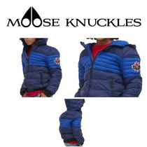 MOOSE KNUCKLES(ムースナックルズ) キッズアウター 【Moose Knuckles】PEEL JACKET キッズ! ネイビーS/M/L