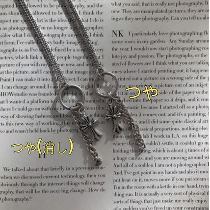 ASCLO ネックレス・チョーカー [送料込] ASCLO◆Cross Necklace (2color)_韓国発(4)