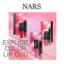 NARS☆EXPLICIT COLOR LIP DUO☆2019春色