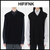 ☆HI FI FNK☆  ベスト HFF Over Knit Vest (Made In HFF)