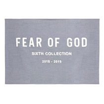 【FEAR OF GOD】 Chenille Embroidered Throw【即発送】