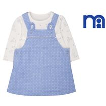 ☆mothercare☆1-24M☆sporty pinny&bodysuit 2点セット☆