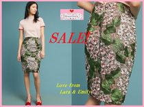 SALE☆ラス1即納【Anthro】Cherry Blossom Pencil Skirt Size:S