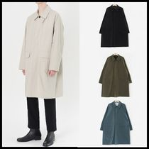 ☆HI FI FNK☆ 春&秋コート Garments Mac Coat (5color)