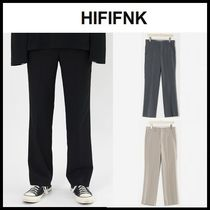 ☆HI FI FNK☆ スラックス Bless Semi Wide Slacks (4color)